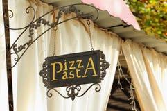 Pizza & pasta Royalty Free Stock Photos