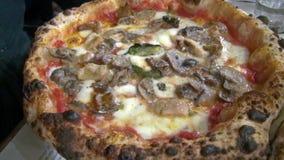 Pizza stock video