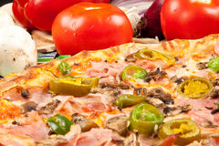Pizza Peperoni Royalty Free Stock Photography