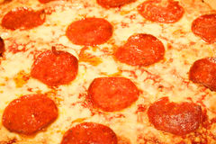pizza pepperoni Fotografia Royalty Free