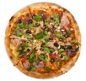 Pizza Pepperoni Royalty Free Stock Images