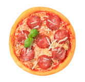 Pizza Pepperoni Stock Image