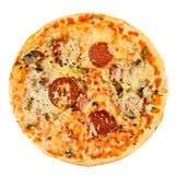 Pizza pepperoni Stock Photography