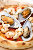 Pizza pescatore Royalty Free Stock Photo
