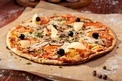 Pizza picante Foto de Stock Royalty Free