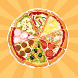 Pizza Pie Royalty Free Stock Images