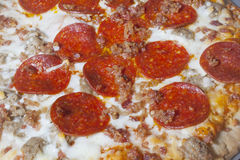 Pizza Pie royalty free stock photo