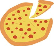 Pizza Pie Royalty Free Stock Image