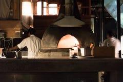 Pizza piekarnik obraz royalty free