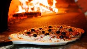 Pizza piekarnik obrazy royalty free