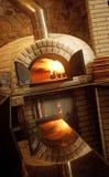 Pizza piekarnik Zdjęcia Royalty Free