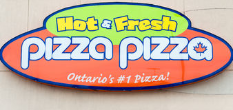 Pizza Pizza Ontario #1 Pizza Royalty Free Stock Photos