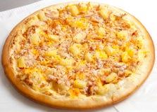 Pizza, Pizzas europäisch und amerikanische Küche Lizenzfreie Stockbilder