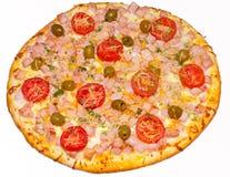 Pizza, Pizzas, für das Menü Lizenzfreie Stockfotos
