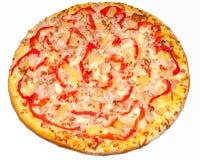 Pizza, Pizzas, für das Menü Lizenzfreie Stockfotografie