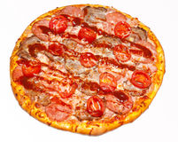 Pizza, pizzas, for the menu Royalty Free Stock Photo