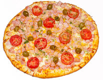 Pizza, pizzas, para o menu Fotos de Stock Royalty Free