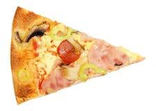 Pizza plasterek obrazy royalty free