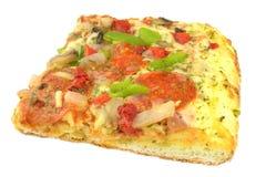 Pizza plasterek obraz royalty free