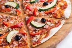 Pizza plasterki   Zdjęcie Royalty Free