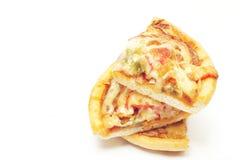 Pizza plasterki zdjęcia royalty free