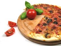 pizza pomidorów Fotografia Stock