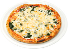 Pizza Popeye el marinero Fotos de archivo libres de regalías