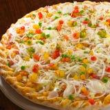 Pizza portuguesa Fotos de Stock Royalty Free