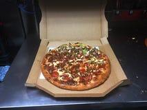 Pizza prête à aller Photo libre de droits