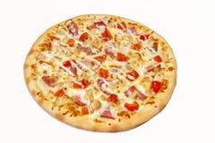 pizza, prato principal Fotografia de Stock Royalty Free