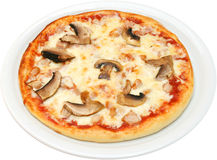 Pizza Primavera Royalty Free Stock Image