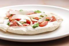 Pizza Primavera Stock Image