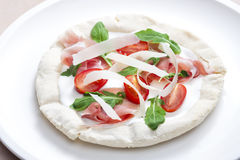 Pizza Primavera Stock Photo