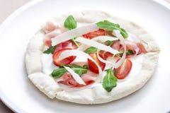 Pizza Primavera Stock Photo
