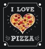 Pizza projekt Fotografia Stock