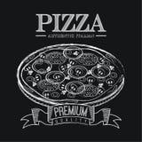Pizza projekt Obrazy Stock