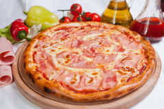 Pizza Prosciutto Royalty Free Stock Photo