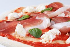 Pizza proscuitto Royalty Free Stock Photography