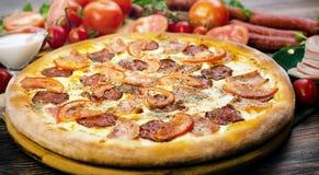 Pizza Provence Foto de archivo
