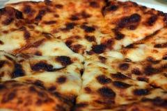 Pizza przy plażą Zdjęcie Royalty Free