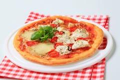 Pizza quattro formaggi Stock Image