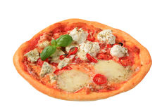 Pizza quattro formaggi Royalty Free Stock Image