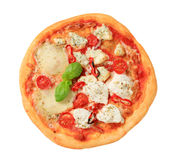Pizza quattro formaggi Royalty Free Stock Photography