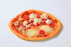 Pizza quattro formaggi Stock Photo