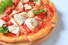 Pizza quattro formaggi Stock Images