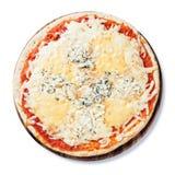 Pizza quattro fromaggi Stock Image