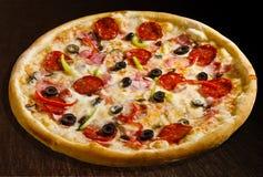 Pizza quattro stagioni Stock Photography