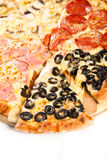 Pizza Quattro stagioni Royalty Free Stock Image