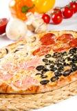 Pizza Quattro stagioni Stock Images