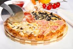 Pizza Quattro stagioni Royalty Free Stock Photos